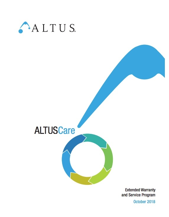 Altus Care Brochure Cover
