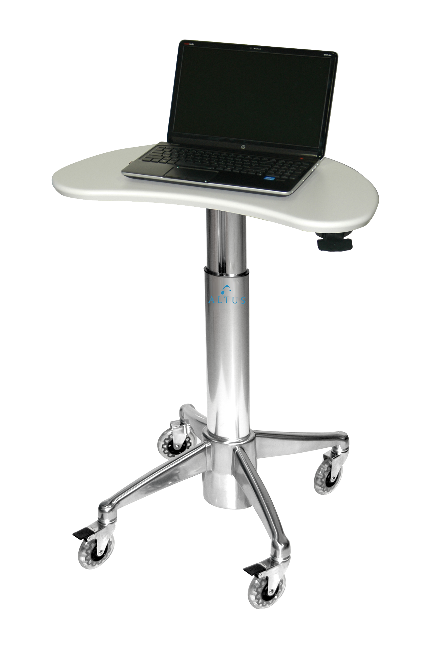 MPC-43P: Kidney Laptop Cart