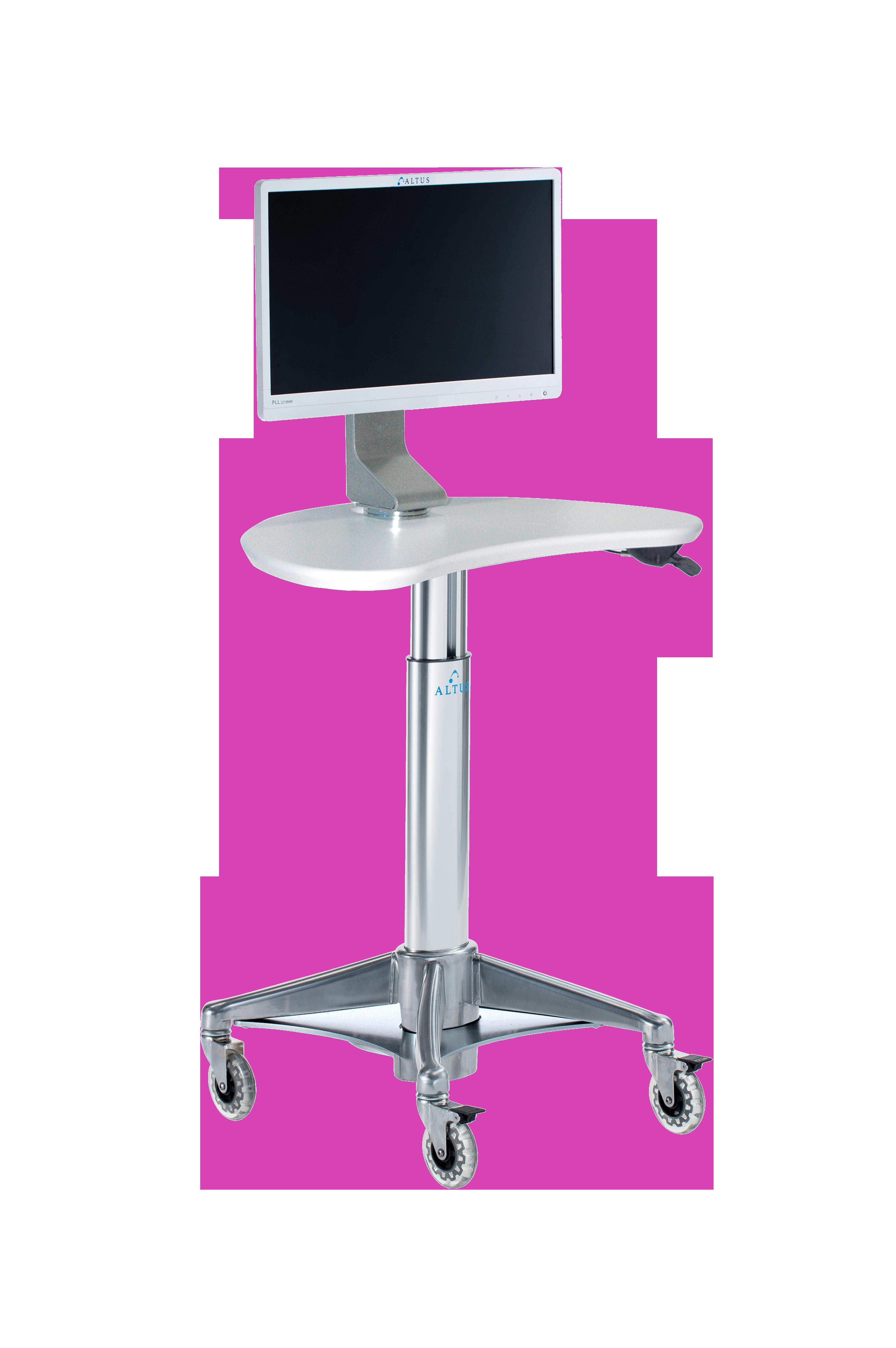 MPC-47P5: Kidney LCD Cart