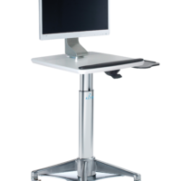 HMC7P5: Square All-in-One Cart (with Palm Support)
