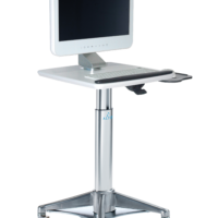HMC7P6: Square LCD Cart (with Palm Support)
