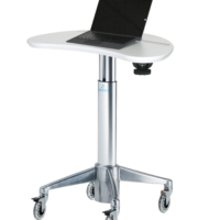 MPC-33P: Magnetic Kidney Laptop Cart
