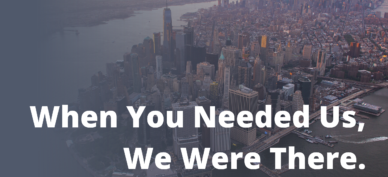 When you needed us blog nyc