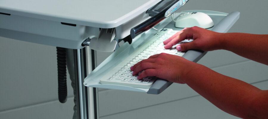 Detail Lit Keyboard