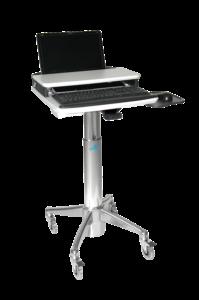 HLC7P2 Locking Laptop Cart