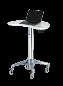 MPC-33P: Magnetic Kidney Laptop Cart