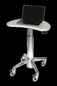 MPC-43P: Kidney Laptop Cart