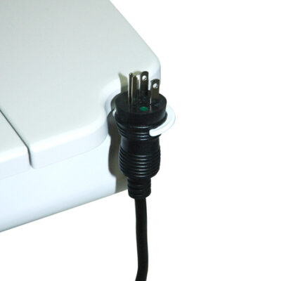 Coiled Power Cord: CPC-5-IW