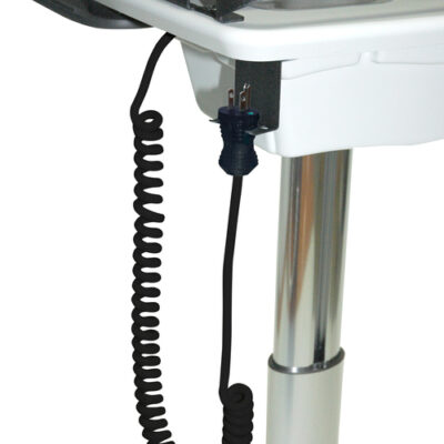 Coiled Power Cord Holder: CPC-8