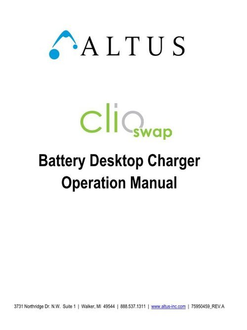Clioswapdesktopchargermanual