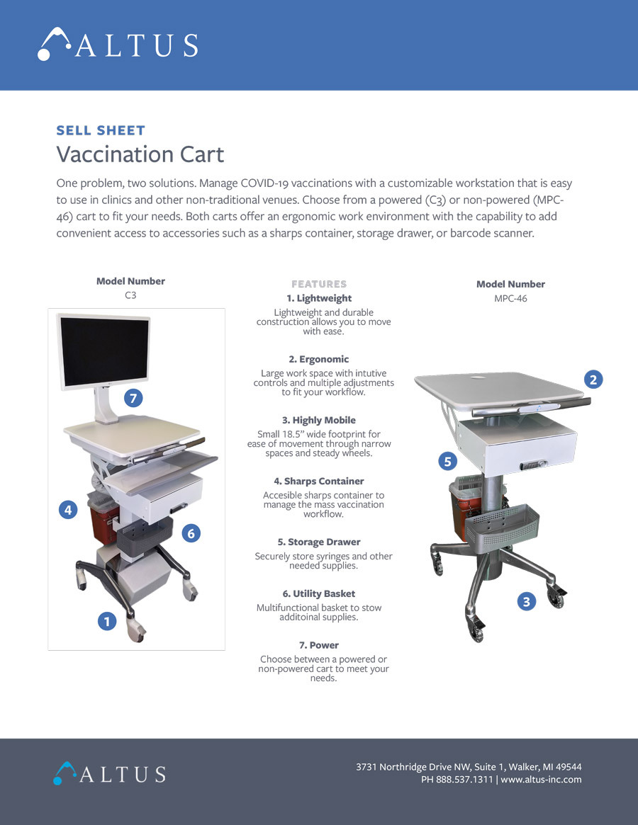 Vaccination Cart Sell Sheet 1