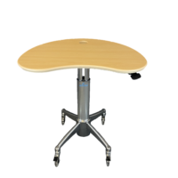 MPC-53-P Large Kidney Laptop Cart