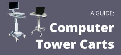 Computer tower carts