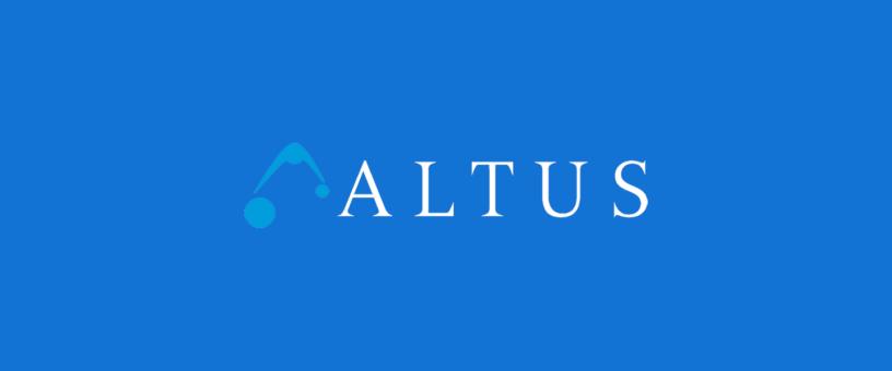 Altus blog workstations